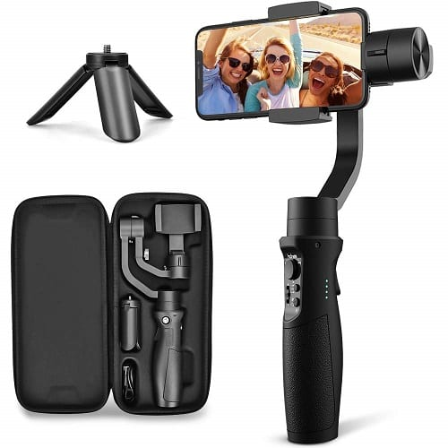 Hohem 3-Axis Gimbal Stabilizer for iPhone