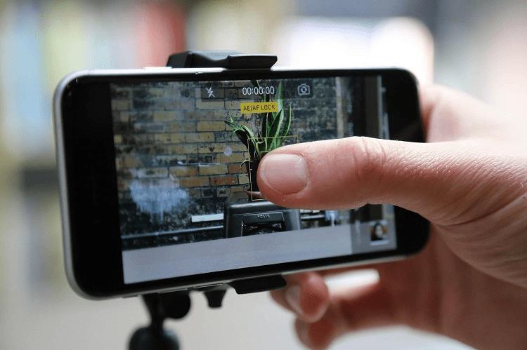 Using Iphone Camera