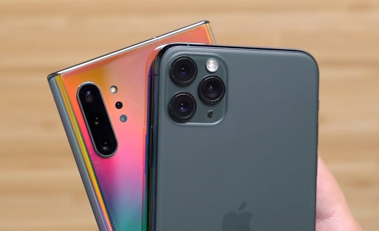 iPhone 11 Pro Max vs Samsung Galaxy Note10+