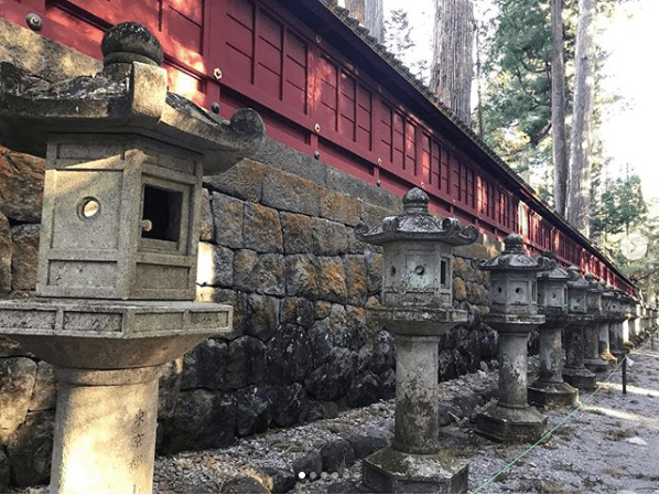 Futarasan Shrine In Japan