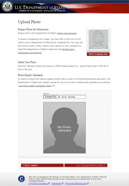 US Department Site