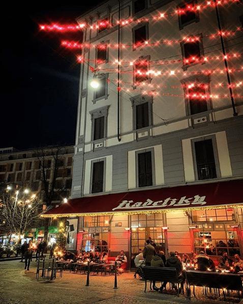 Caffee In Milan