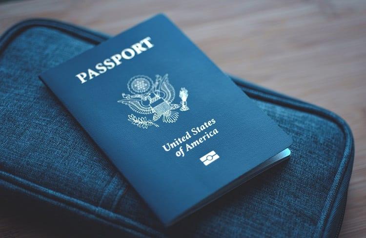 Passport On Wallet