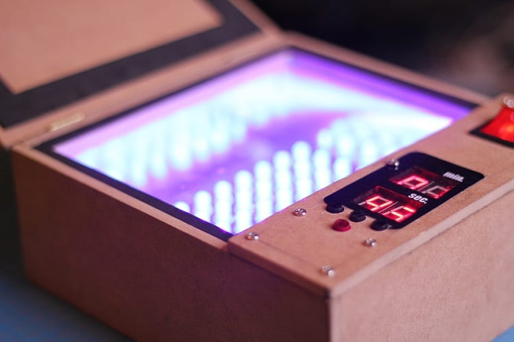 DIY UV Light Box